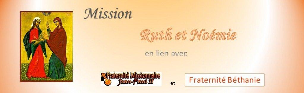 Mission Ruth et Noémie
